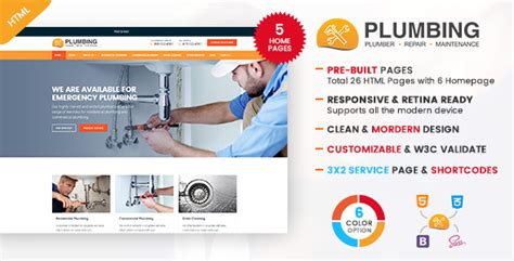 Types Of Plumbing Services by Maintenance Nulled Rip