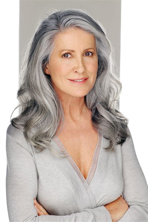 models with gray hair model karina g silver foxes pinterest models gray