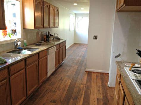kitchen flooring ideas with oak cabinets hardwood floor ideas kitchen with vinyl hardwood