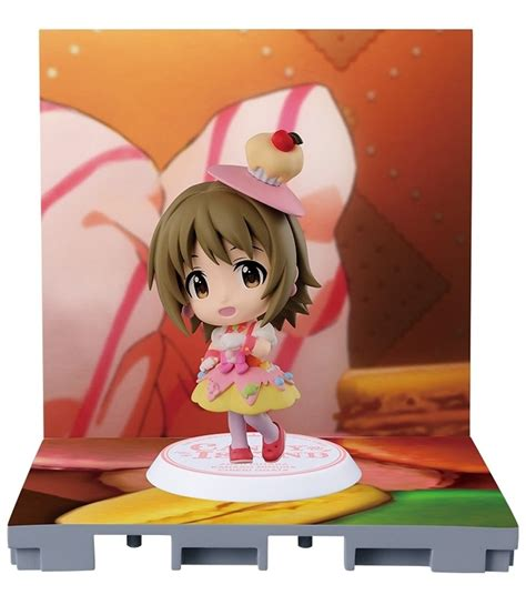 Pvc Banpresto Ichiban Kuji Idolmaster Cinderella Mimura Kanako idolmaster cinderella happy 215 2 days chibi kyun chara mimura kanako my anime shelf
