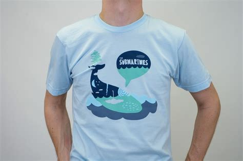 Whale Tshirt whale t shirt the submarines store apparel merchandise more
