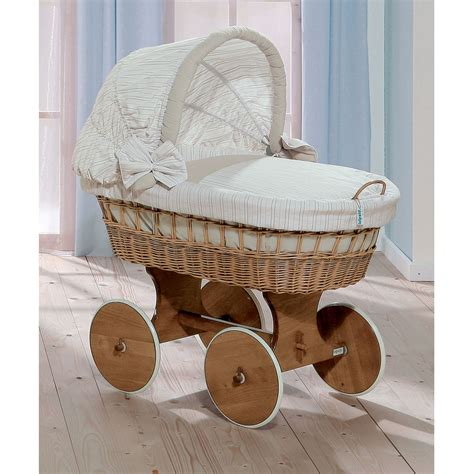 Leipold Cribs by Leipold Cappuccino Bollerwagen Crib Leipold At W H Watts