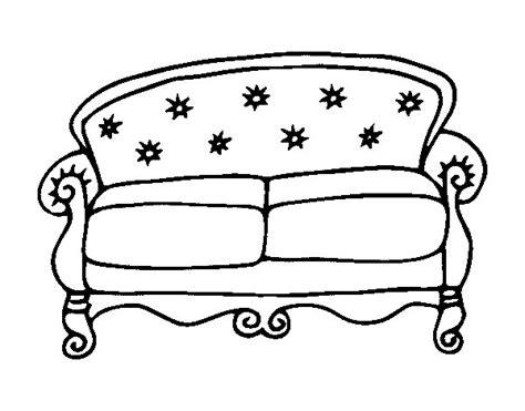 disegno divano disegno di divano chesterfield da colorare acolore