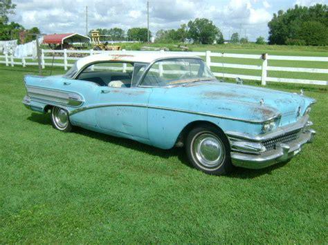 1958 buick special 4 door hardtop