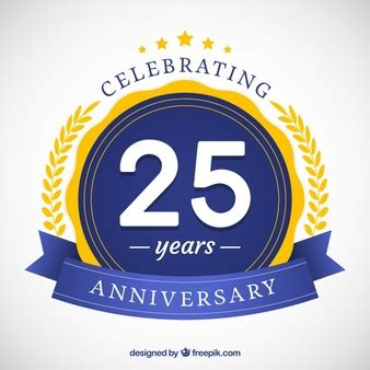 25 years vectors, photos and psd files | free download