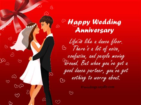 Wedding Anniversary Cards And Messages by Wedding Anniversary Messages Wishes And Wordings