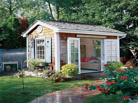these she sheds are a perfectly serene escape she sheds ideas pictures shabby chic shed ideas she inside