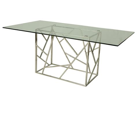 Dreamfurniture Com Firouzeh Dining Table With 70 Quot X 39 70 Dining Table