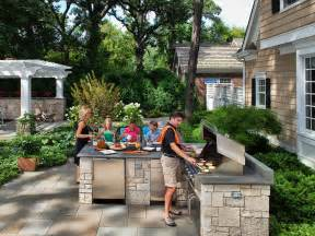 Backyard Kitchen Ideas by Cheap Outdoor Kitchen Ideas Hgtv