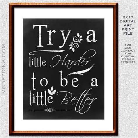 chalkboard print printables pinterest printable chalkboard typography inspirational quote home