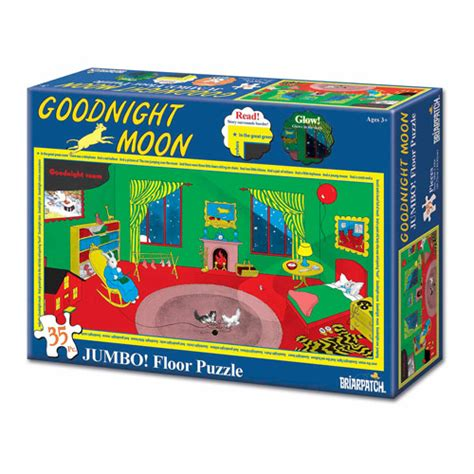 puzzle kertas hello jumbo goodnight moon glow jumbo floor puzzle 35 pieces
