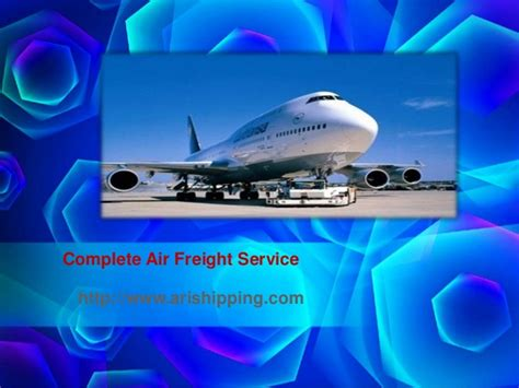 complete air freight service