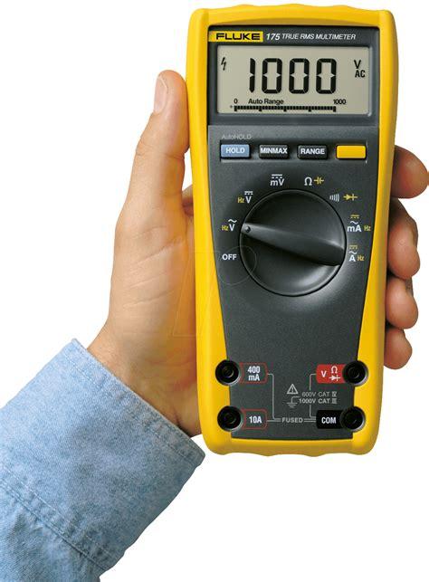 Multimeter Fluke fluke 175 fluke 175 universal digital multimeter at