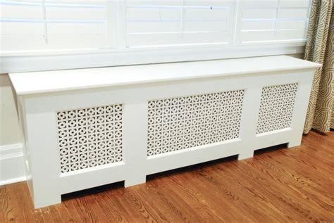 radiator bench cover dyi radiator cover want it make it furniture pinterest
