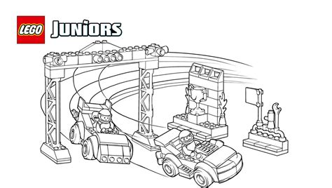 lego junior coloring pages lego race car colouring pages coloring page