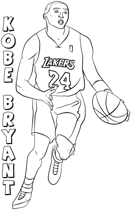 coloring pages of basketball players of the nba free printable nba coloring pages national basketball