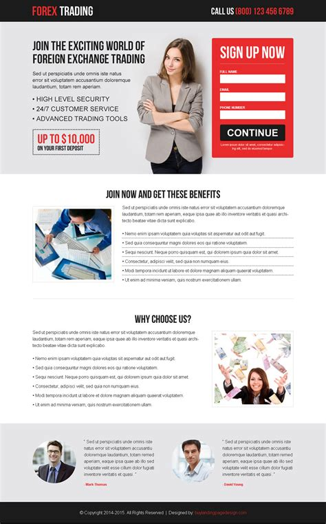 forex landing page template forex trading lead capture res lp 002 forex trading