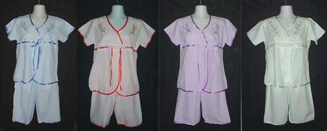 Stelan Baju Tidur 3 4 All Size baju tidur gloria oktober 2010