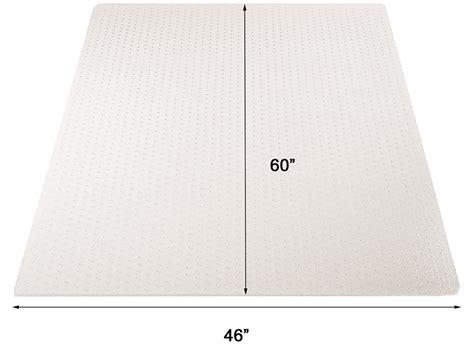 carpet chair mat rectangular 46 x 60 high pile carpet 25 quot thick chair mats 36 quot x48 quot see more