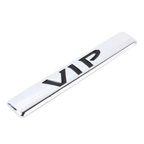 Auto Sticker Metal by Auto Vip Sticker Vip Label Car Stickers 3d Metal Fashion