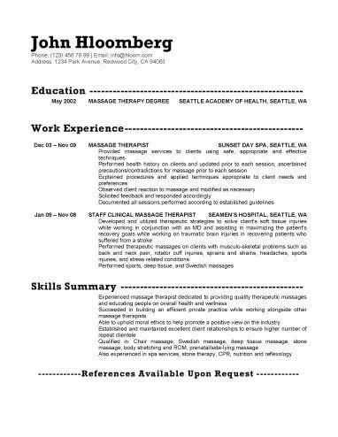therapist resumes 18 free therapist resume templates