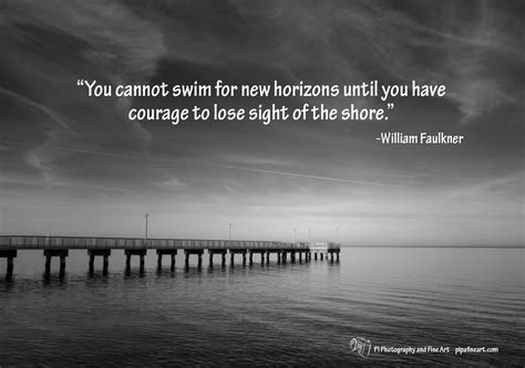 quote of the day on landscape photo - Pier Quotes
