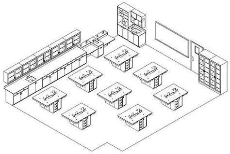physics lab floor plan academic laboratory wbdg whole building design guide