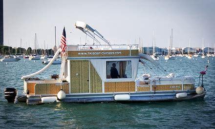 chicago boat rental groupon tikiboat rental tikiboat chicago groupon