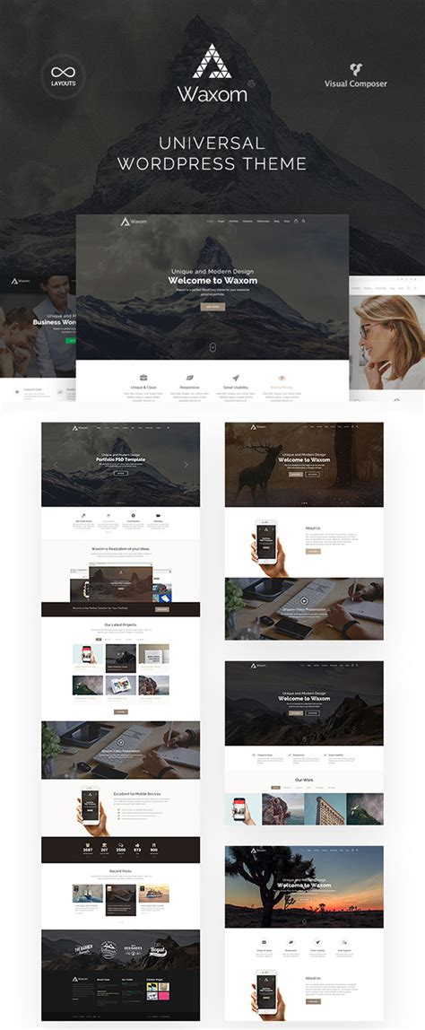 top new wordpress themes of 2016