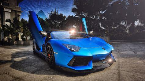 Lamborghini Aventador Matte Blue Pictorial Matte Blue Dmc Lamborghini Aventador