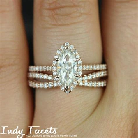 Wedding Rings Marquise Cut by Marquise Cut Engagement Ring Set Engagement Ring Usa