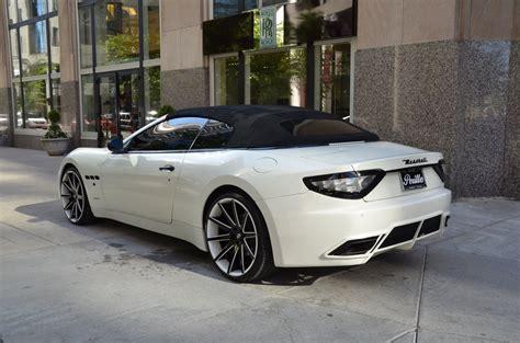 Used Maserati Chicago by 2011 Maserati Granturismo Convertible Stock 56238 For