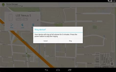 android device manager app track remote wipe your lost android device for free with new utility technology news