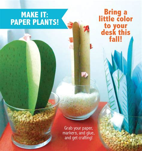 How To Make Paper Bushes - how to make paper plants i inspire d