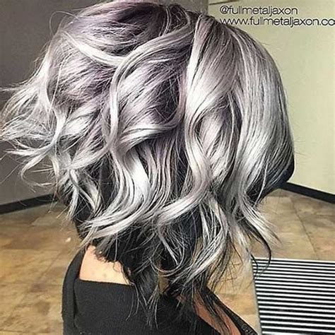 hair color for grey grey hair pics hairstyles 2016 2017 most