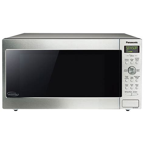 Best Buy Countertop Microwaves by Panasonic Prestige Plus Countertop Microwave 1 6 Cu Ft Stainless Steel Counter Top