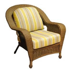 Wicker Chair Seat Cushions Winward Outdoor Wicker Chair All About Wicker Wicker