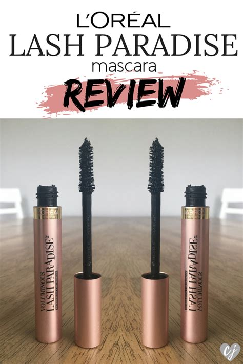 Harga Loreal Voluminous Lash Paradise l oreal voluminous lash paradise mascara review