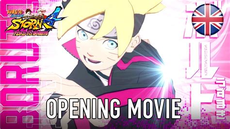 Sun Strom 4 Road To Boruto Ps4 Sun 4 Road To Boruto Pc Ps4 Xb1 Opening