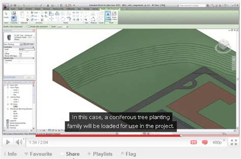 revit topo tutorial revit structure learning curve more toposurface video