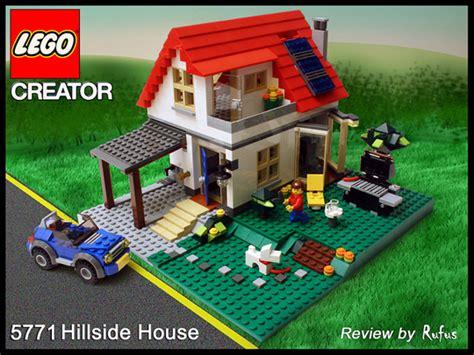 Lego Creator 3 In 1 Hillside House 5771 Bonus 2 Mini Figure lego pictorial review 5771 hillside house frontpage