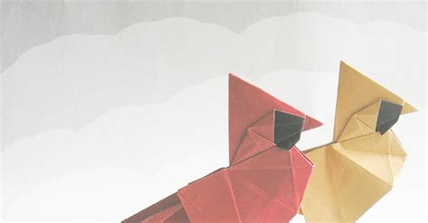 Origami Bird Meaning - nook cranny crafty creases
