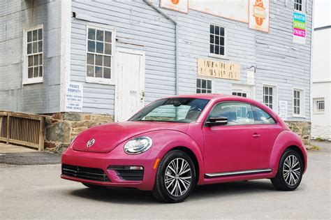 used pink volkswagen beetle new and used volkswagen beetle vw prices photos