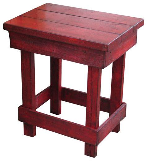 Farmhouse Side Table Medium End Table Farmhouse Side Tables And End Tables By Rustic Exquisite Designs