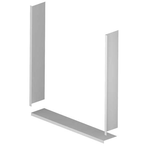 Shower Door Trim Asb 36 In X 36 In Window Trim Kit In White 1trim03a The Home Depot