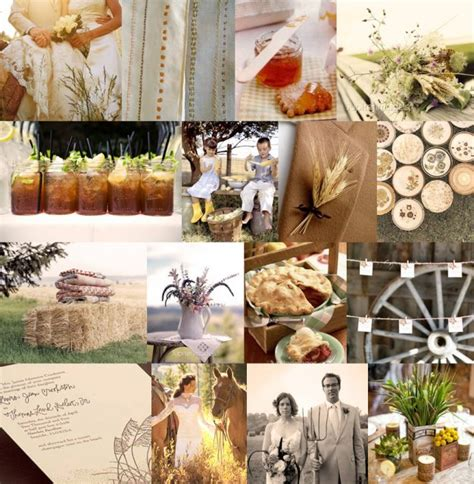 charming and adorable country wedding ideas