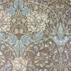 William morris honeysuckle and tulip linen print