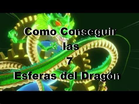 como conseguir las 7 esferas del dragón dragon ball