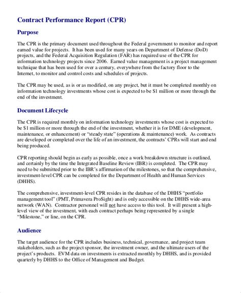 project performance report template awesome project performance report template photos