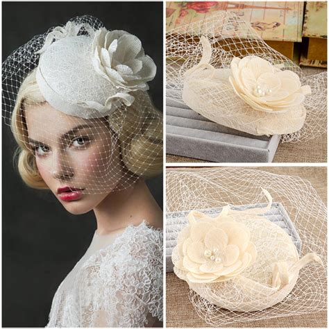 wedding hair net veil uk popular vintage veil hats buy cheap vintage veil hats lots